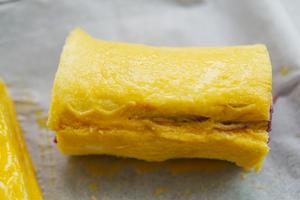 岩烤奶酪紫薯卷的做法 步骤8