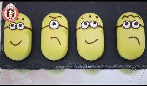 确定过眼神,是我要吃的——小黄人慕斯蛋糕的做法 步骤8