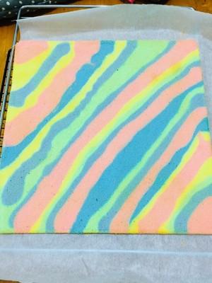 彩虹蛋糕卷胚的做法 步骤20