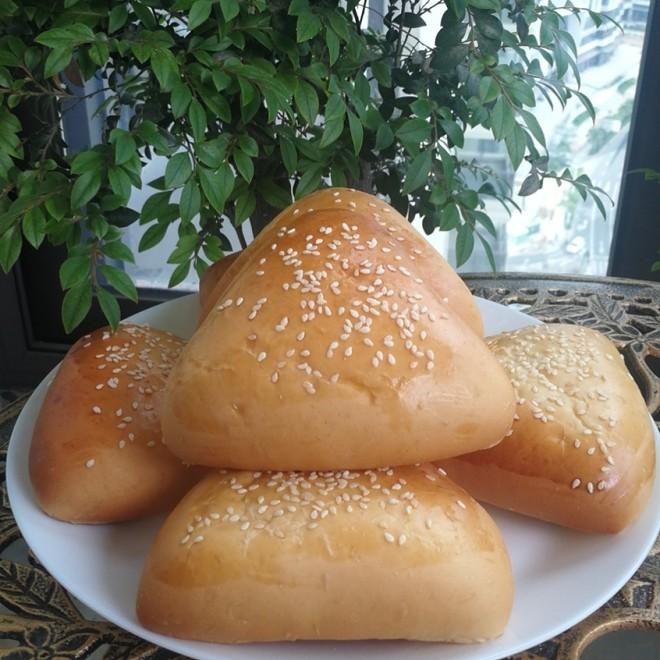 三角奶黄包的做法
