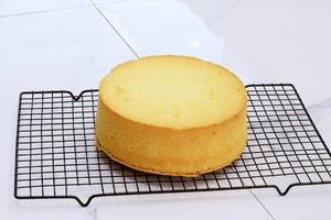 原味8寸戚风蛋糕的做法 步骤13