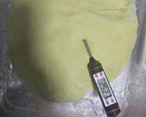抹茶蜜豆蔓越莓面包的做法 步骤8
