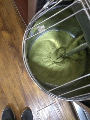 抹茶蜜豆蔓越莓面包的做法 步骤1