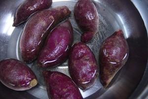 低脂健康的紫薯面包的做法 步骤1
