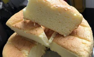 8寸椰子粉戚风蛋糕 制作方法