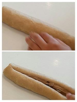 杏仁黑麦面提子面包的做法 步骤8