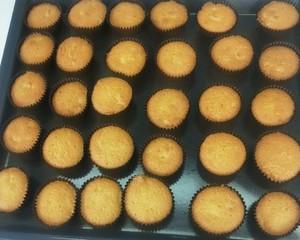 杏仁纸杯蛋糕的做法 步骤13