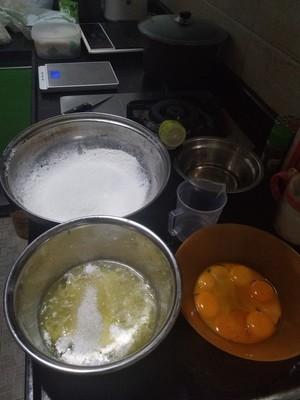 早餐原味蛋糕卷的做法 步骤1
