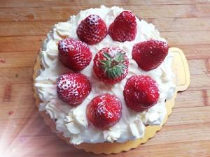 草莓芝士蛋糕的做法 步骤12