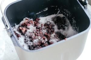 黑糖麻薯红豆吐司的做法 步骤4