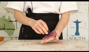 酥到没朋友的——紫薯酥的做法 步骤12