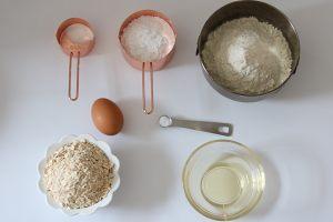 麦片早餐饼干的做法 步骤1