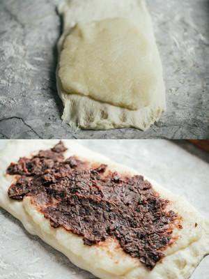 黑糖麻薯红豆吐司的做法 步骤17