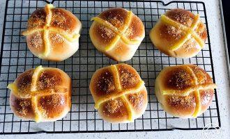 椰浆卡仕达馅小面包  制作方法