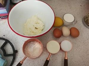 草莓芝士蛋糕的做法 步骤1