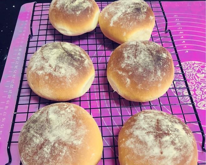 咸蛋黄红豆沙面包的做法