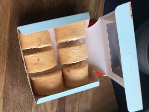 芒果牛乳蛋糕卷的做法 步骤5
