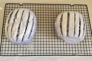 蓝色乡村面包的做法 步骤11