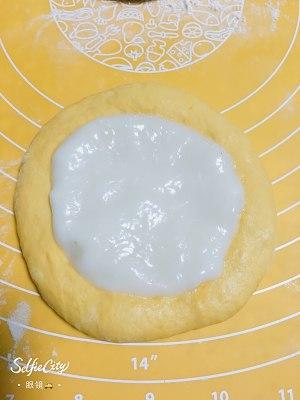 南瓜🎃咸蛋黄肉松麻薯软欧包🍞的做法 步骤8