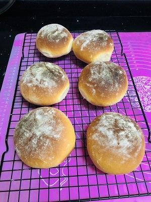 咸蛋黄红豆沙面包的做法 步骤7