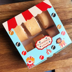 芒果牛乳蛋糕卷的做法 步骤6