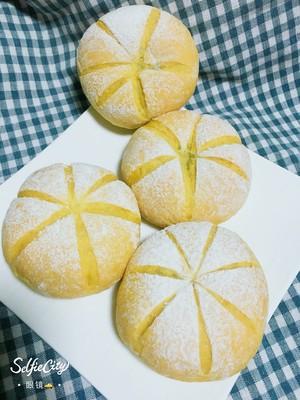 南瓜🎃咸蛋黄肉松麻薯软欧包🍞的做法 步骤12