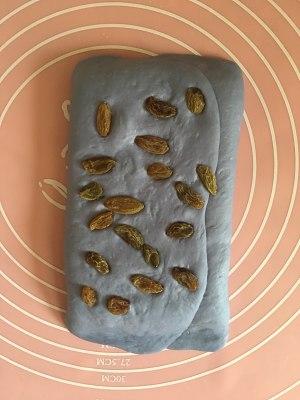 蓝色乡村面包的做法 步骤7