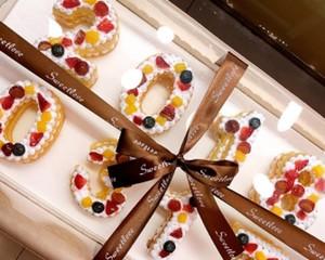 数字水果蛋糕的做法 步骤16