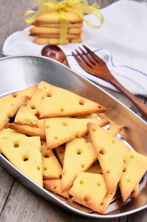 奶酪饼干的做法 步骤9