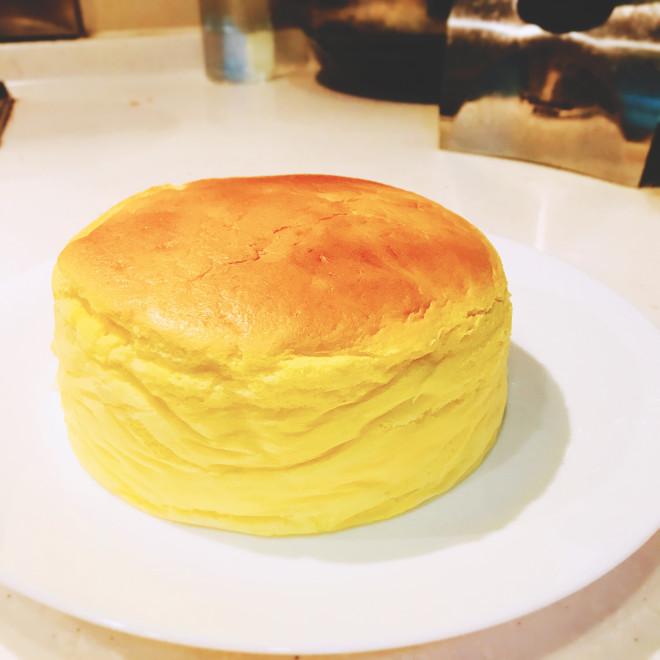 轻乳酪芝士蛋糕(6寸圆模)的做法