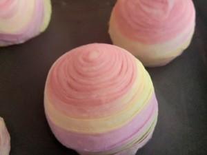 彩色螺纹酥的做法 步骤13