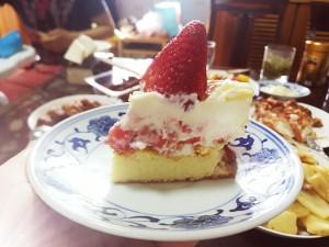 草莓芝士蛋糕的做法 步骤13
