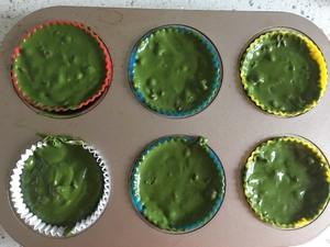 红豆抹茶麦芬的做法 步骤11