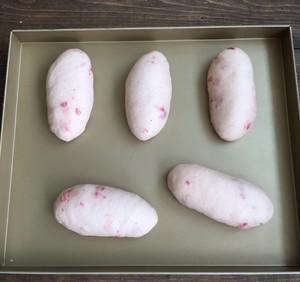 奶油奶酪馅草莓冻干餐包~UKOEO高比克食谱的做法 步骤14