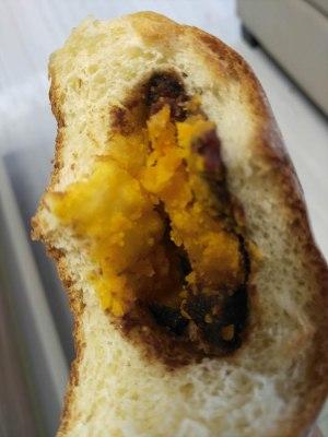 咸蛋黄红豆沙面包的做法 步骤8