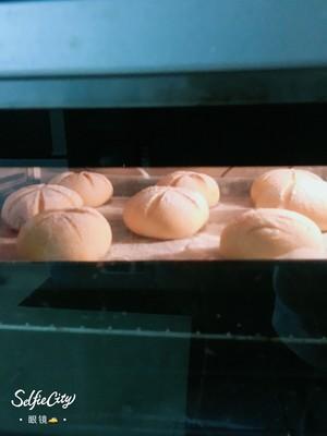 南瓜🎃咸蛋黄肉松麻薯软欧包🍞的做法 步骤11