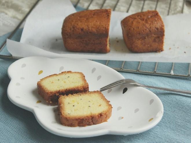 奇亚籽香草磅蛋糕的做法