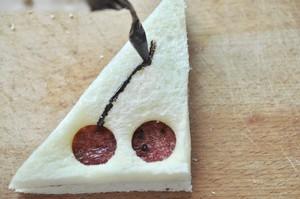 樱桃 吐司的做法 步骤9