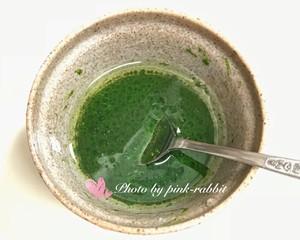 菠菜汁戚风.12-14-17中空加高的做法 步骤4