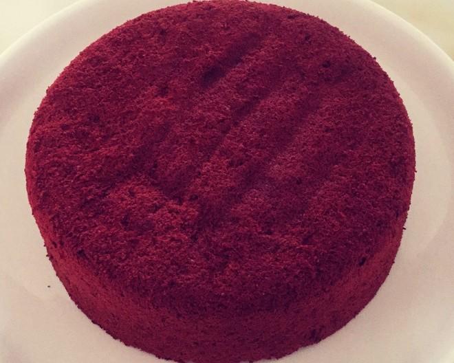 8寸红丝绒蛋糕的做法