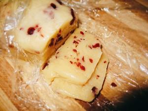 没有模具的蔓越莓饼干的做法 步骤6