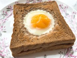 芝士太阳蛋吐司的做法 步骤6