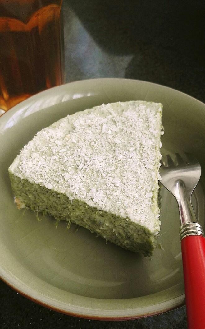 艾草慕斯蛋糕的做法