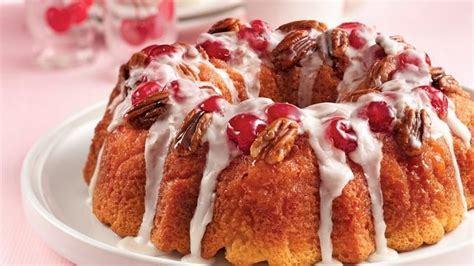 贝蒂食谱|樱桃-山核桃戚风蛋糕的做法