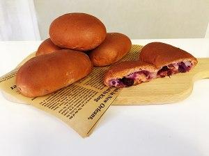 玫瑰紫/麻薯面包的做法 步骤9