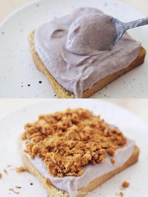 芋泥肉松吐司的做法 步骤4