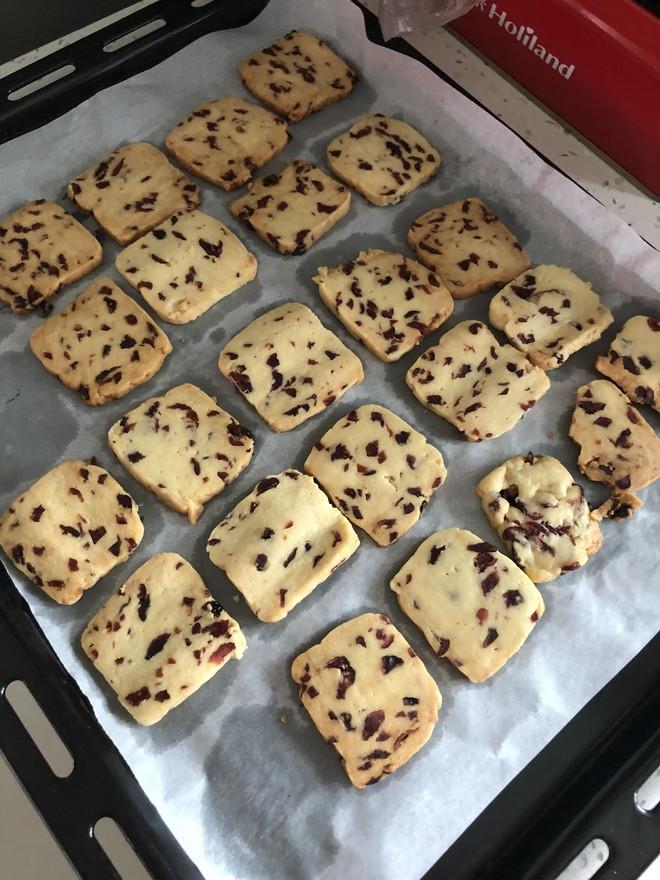 低糖少油蔓越莓饼干的做法