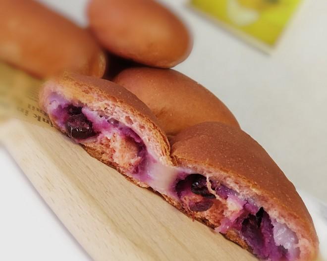 玫瑰紫/麻薯面包的做法