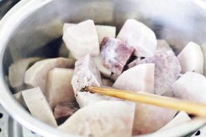 芋泥肉松吐司的做法 步骤1