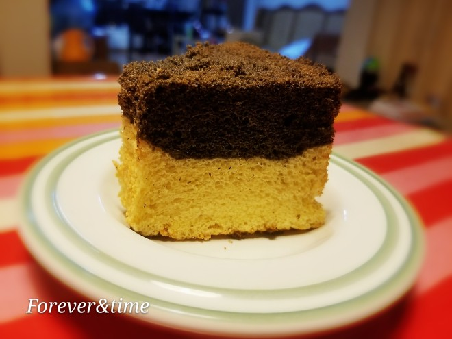 黑芝麻酱戚风蛋糕的做法